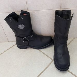 Harley riding boots